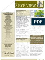 2008 Issue #1 Bird's Eye View Newsletter Washington Audubon Society
