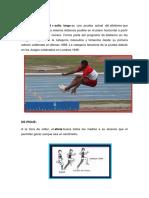 Atletismo Dibujos y Concepto