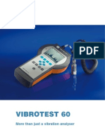 Vibrotest60 Brochure en 2007