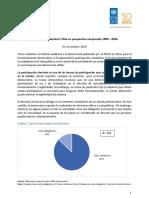 Participación electoral en Chile 1990-2006