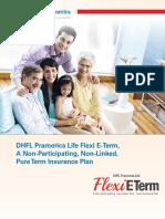 Flexi term dhfl pramerica
