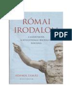Adamik Tamás - A római irodalom.pdf
