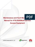 Maintenance and Fault Management Manual for ATN 950BMulti