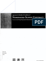 ed Supply Contract 2005