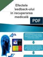 Efectele Biofeedback Ului in Recuperarea Medicală