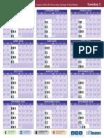 Toronto Garbage Schedule Daytime_Tuesday_1(2)