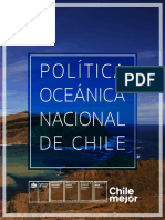Poli Tica Ocea Nica Nacional de Chile Ok