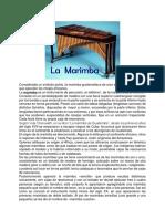 Las Diferentes Marimbas de Guatemala
