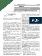 Proyecto de Decreto Supremo Que Modifica El Reglamento Nacio Resolucion Ministerial No 791 2016 Mtc0102 1438466 1