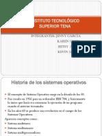 Historia de SISTEMAS