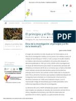 El Principio y El Fin de La Bioética - Redbioética_UNESCO