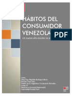 Habitos Del Consumidor Venezolano