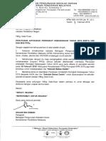 Surat Perutusan AADK Dan Visi PPDa-2018