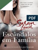 Susan Lewis - Escândalos Em Familia (Oficial)