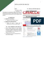 Instalacion Oracle