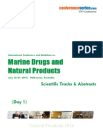 Natural Products 2016 Scientifictracks Abstracts