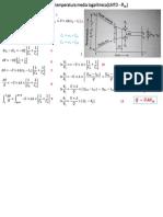 Diferencia en Temperatura Media Logarítmica(LMTD - Θ_m)