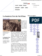 La Fonderie d'Art Du Val d'Osne