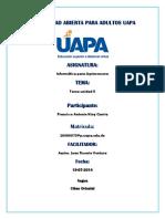 Tarea II de Informática Para Agrimensores UAPA