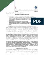 Importancia y Beneficio Del Reciclaje - Degradación de Los Materiales - Andrei Villamar Bermúdez