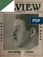 Motion Picture Review (Dec 1926)