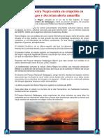 Volcán Sierra Negra Entra en Erupción en Galápagos y Decretan Alerta Amarilla