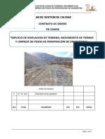 Plan de Calidad Rlo313–Lo470aRev. 0