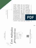 Anzieu. Los Metodos Proyectivos- Cap 1- El Concepto de Proyeccion en Psicologia