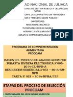 DIAPOSITIVAS SISTEMA NACIONAL DE ADMINISTRACION FINANCIERA AUTOR MAIG FLOREZ PACHECO