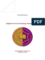English for Food Technology Students - PDF Version