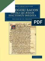 San Bernardo -De Consideratione Ad Eugenium Papam