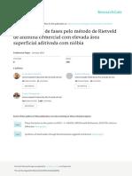 Quantificação de Fases com Método Rietveld