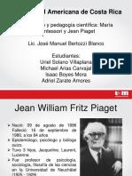 Jean Piaget y Montessori