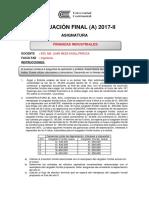 Evaluación Final 2017 II A