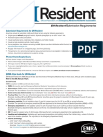 EM Resident Magazine Publishing Guide