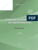 Atencao Humanizada Abortamento Norma Tecnica