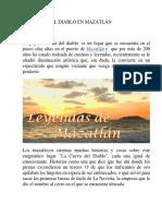 La Cueva Del Diablo en Mazaltán