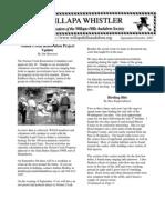 September-October 2007 Willapa Whistler Newsletter Willapa Hills Audubon Society