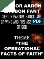 Pastor Aaron Lambon Fant