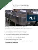 Equipos para el procesamiento de lácteos.docx