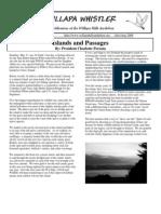 July-August 2008 Willapa Whistler Newsletter Willapa Hills Audubon Society