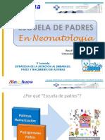 Escuela de Padres en Neonatología. Rosa P. Arias Llorente 2016