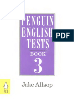 Allsop Jake. - Penguin English Tests - Book 3 - Intermediate
