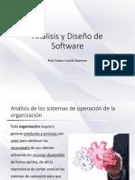 Diagnóstico de los sistemas de operación de la organización
