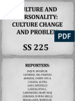Culture and Personality-culture Change and Problem by g6