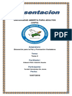 Tarea 2 Educacion Para La Paz