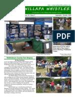 September-October 2010 Willapa Whistler Newsletter Willapa Hills Audubon Society