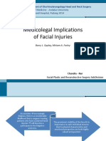 Medicolegal Implications of Facial Injuries