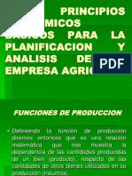 Los Principios Ecoonomicos Basicos Para Analisis de La Empr Agrop