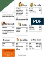 Burrito pDF